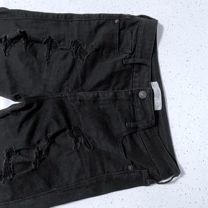 ABERCROMBIE|Black High Waisted Jean|